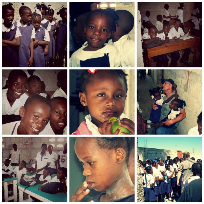haiti collage
